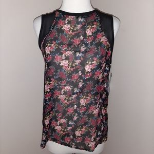 NWT Rampage Floral Lace Blouse
